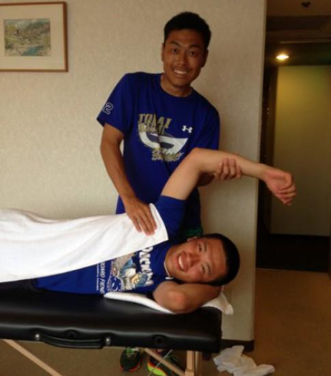東海大相模高校硬式野球部 チームトレーナー 渡部真弘さんを訪ねて!