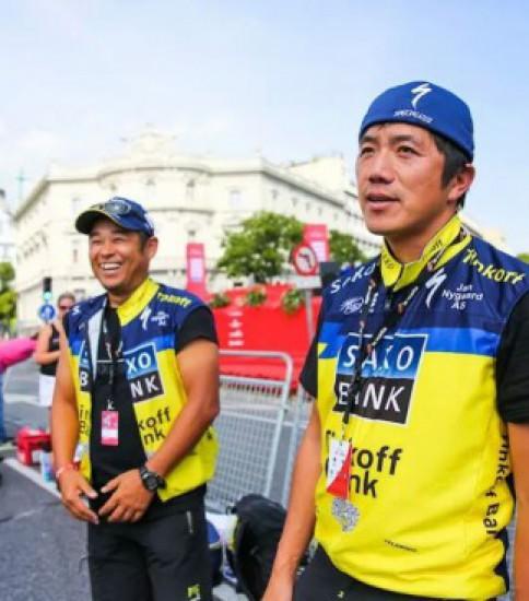 欧州サイクリングチームトレーナーを訪ねて