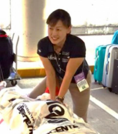 陸上界で活躍するトレーナー 村田 亜由美さんを訪ねて!