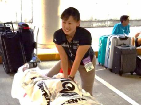 陸上界で活躍するトレーナー 村田 亜由美さんを訪ねて! | 花田学園 ...