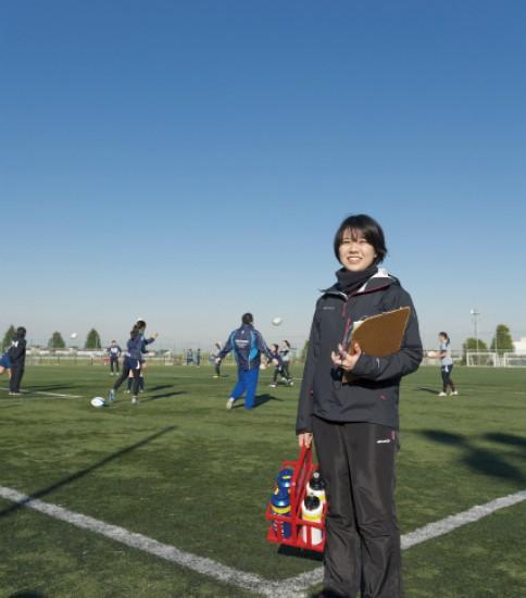 YOKOHAMA TKM(女子ラグビークラブ) 神谷 智恵美さん